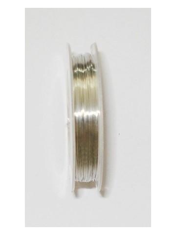 Alambre plata 0.3 mm  30metros