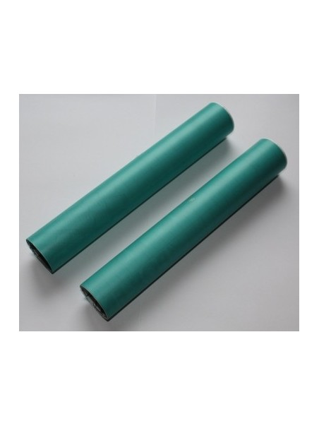 Papel mate transparente azul (1metro)