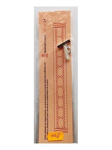Pulsera 2cm con cierre