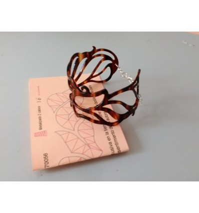 Brazalete Brisa color concha con patrón