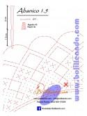 Patrón 1.5  para varillas de 21 cm  (15cm+6cm )