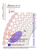 Patrón 8.12 para varillas de 21,5 cm  (10cm+11,5cm )