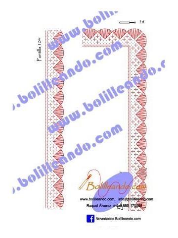 Puntilla 104 (2,5cm de ancho)