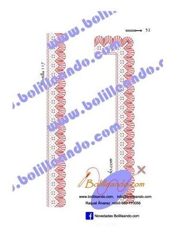 Puntilla 117 (2.5cm de ancho)