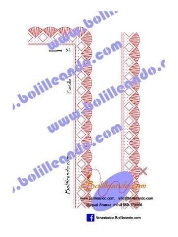Puntilla 122 (2.5cm de ancho)