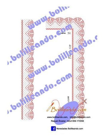 Puntilla 129 (3cm de ancho)