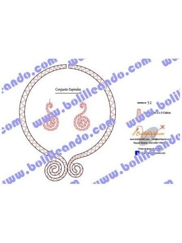 Gargantilla Ruso Espiral