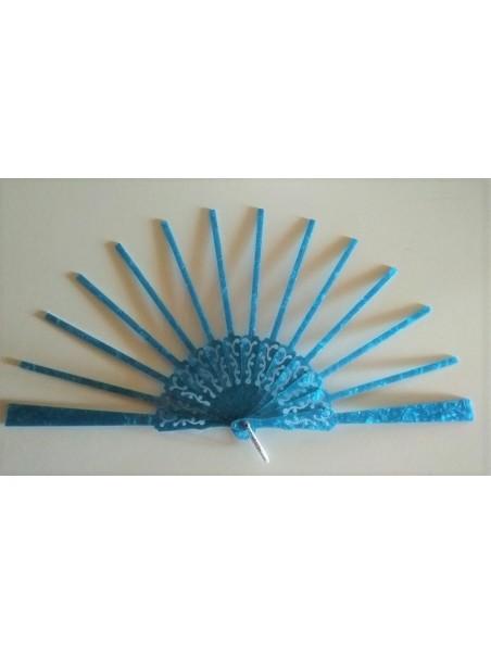 Varillas 21,5cm Nacarina Azul Floral