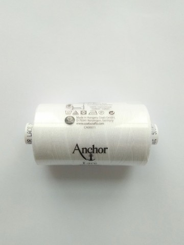 Blanco puro grosor 20 Anchor