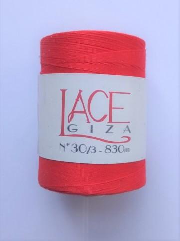 Rojo (0326) algodón 30