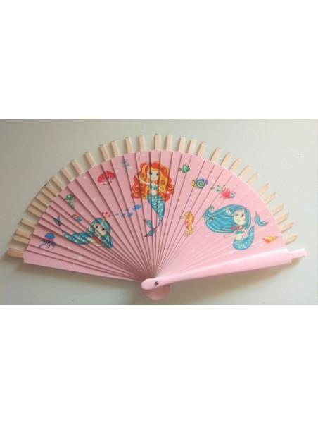 Varillas de 17cm sirenas rosa