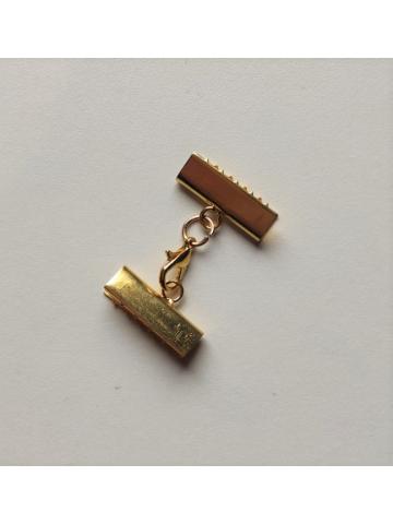 Cierre 2cm mordedura oro