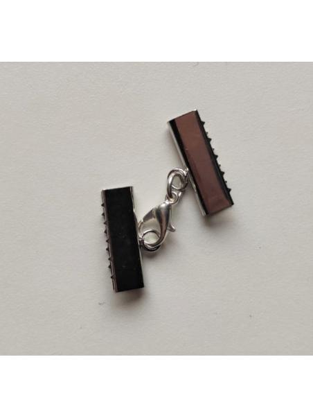 Cierre 2cm mordedura plata